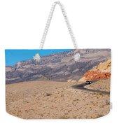 Desert Road Weekender Tote Bag