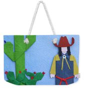 Desert Roadrunner By Mary Ellen Palmeri Weekender Tote Bag