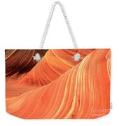 Desert Sandstone Waves Weekender Tote Bag