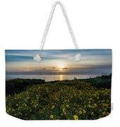 Desert Sunflowers Coastal Sunset 2 Weekender Tote Bag