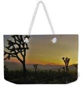 Desert Sunset Weekender Tote Bag