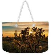 Desert Sunshine Shining Through  Weekender Tote Bag