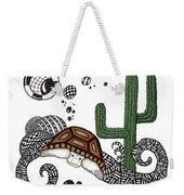 The Desert Tortoise Weekender Tote Bag