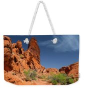 Desert Tower Valley Of Fire Weekender Tote Bag