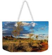Desert Track Weekender Tote Bag