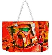 Desert Trooper - Pa Weekender Tote Bag