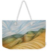 Desert Waves Weekender Tote Bag