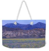 Desert Wildflowers, Death Valley Weekender Tote Bag