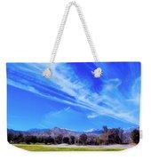 Desert Winter Sky Weekender Tote Bag