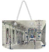 Design For A Music Room With Panels By Margaret Macdonald Mackintosh Weekender Tote Bag