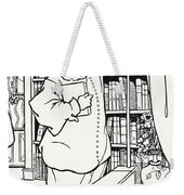 Design For The Cover Of Pierrot Weekender Tote Bag