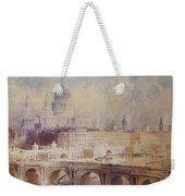Design For The Thames Embankment, View Looking Downstream Weekender Tote Bag