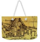 Design Sketch  Weekender Tote Bag