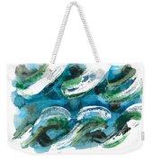 Design Waves Weekender Tote Bag
