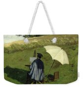 Desire Dubois Painting In The Open Air Weekender Tote Bag by Henri Joseph Constant Dutilleux