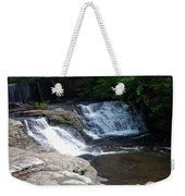 Desoto Falls In Alabama Weekender Tote Bag