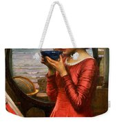 Destiny Weekender Tote Bag by John William Waterhouse