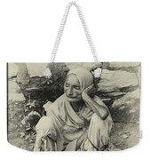 Destitute On The Ganges Weekender Tote Bag