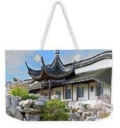 Detail Chinese Garden With Rocks. Weekender Tote Bag