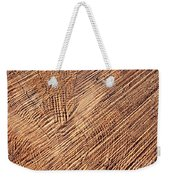 Detail Cut On Trunk Wood Weekender Tote Bag