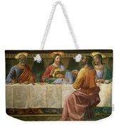 Detail From The Last Supper Weekender Tote Bag by Domenico Ghirlandaio