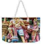 detail of Arulmigu Kapaleeswarar Temple, Chennai, Tamil Nadu Weekender Tote Bag