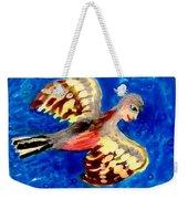 Detail Of Bird People Flying Chaffinch  Weekender Tote Bag