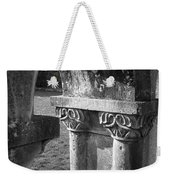 Detail Of Cloister At Cong Abbey Cong Ireland Weekender Tote Bag