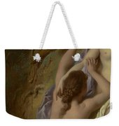 Detail Of Diana And Her Nymphs Bathing Weekender Tote Bag