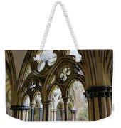Detail Of Salisbury Cathedral Cloister  Weekender Tote Bag