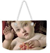 Detail Of The Christ Child From The Madonna Of The Pomegranate  Weekender Tote Bag