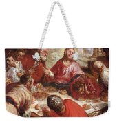 Detail Of The Last Supper Weekender Tote Bag