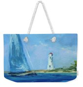 Sailing By The Light Weekender Tote Bag