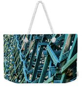Detail View Of The Kinsol Trestle Weekender Tote Bag