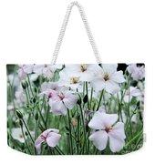 Details In Soft White Weekender Tote Bag