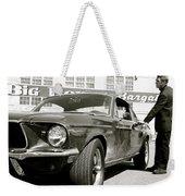 Detective Lieutenant Frank Bullitt, Steve Mcqueen, 1968 Ford Mustang Gt 390 Weekender Tote Bag