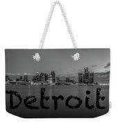 Detroit City  Weekender Tote Bag