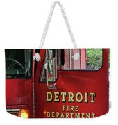 Detroit Fire Department Weekender Tote Bag