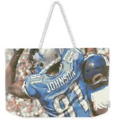 Detroit Lions Calvin Johnson 3 Weekender Tote Bag