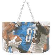 Detroit Lions Calvin Johnson 4 Weekender Tote Bag