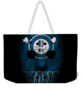 Detroit Lions War Mask Weekender Tote Bag