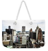 Detroit Weekender Tote Bag
