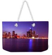 Detroit Skyline 2 Weekender Tote Bag