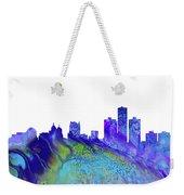 Detroit Skyline 3 Weekender Tote Bag