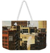 Detroit Steam City Weekender Tote Bag