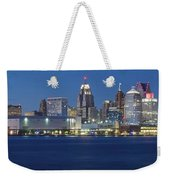 Detroit Stretches Out Weekender Tote Bag