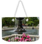 Detroit Zoo Fountain Weekender Tote Bag