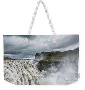 Dettifoss Waterfall Weekender Tote Bag