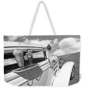 Deuce Coupe At The Drive-in Black And White Weekender Tote Bag