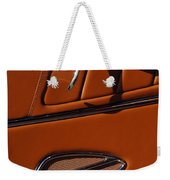 Deucenberg Hot Rod Interior Door Weekender Tote Bag